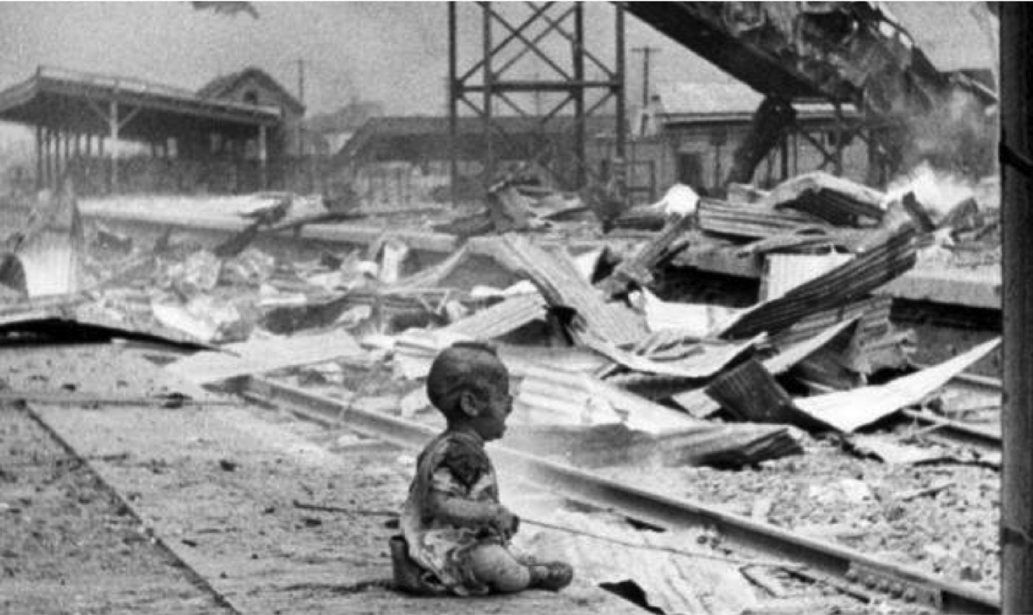 Hiroshima: the first city destroyed by a nuclear weapon